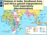 WORLD UNIT 14 LESSON 2. Decolonization of Africa and India POWERPOINT