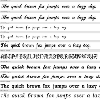 115+ SCRIPT FONTS – Commercial License for Teachers Pay Teachers Products!