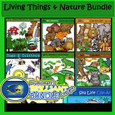 116 Pc. BUNDLE: Living Things & Nature 58 BW, 58 Color