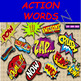 117 COMIC ACTION WORDS BY COMIC TOONS for TPT Sellers / Teachers