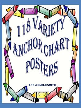 118 Variety Language Arts Charts & Posters