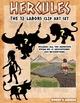 The 12 labors of Hercules /Heracles clip art set