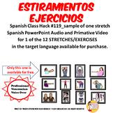119_A  Estiramiento Ejercicio Spanish Brain Break Stretch