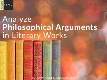 Analyze philosophical arguments in literary works (EDI)