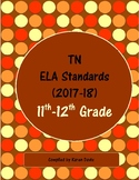 11th-12th Grade TN ELA Standards (2017-18)