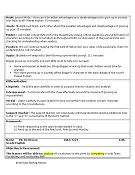11th Grade English Annual Lesson Plan Bundle (Entire Year - 42 Weeks)