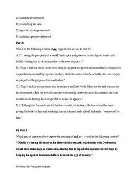 11th Grade English PARCC Practice & SAT Prep Test