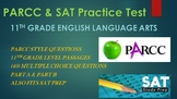 11th Grade English PARCC Practice & SAT Prep Test