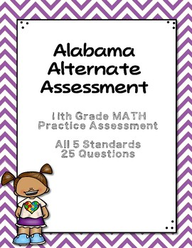 11th Grade Math Extended Standards Practice Test  AAA