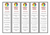 11th Grade Suggested Summer Reading Bookmark