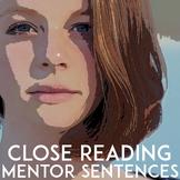 No-Prep Close Reading Activities   Mentor Sentences   Writing Prompts
