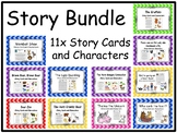 11x Story Card and Characters Bundle