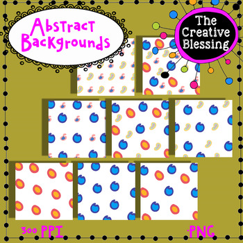11x11 Abstract  Digital Backgrounds / Digital Paper