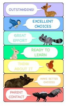 11x14 Classroom Behavior Chart