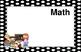 11x17 ALL BLACK POLKA DOTS Daily Learning Targets Bulletin Board Set