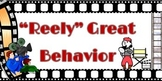 "11x17 Printable Hollywood Themed ""Reely Great Behavior"" Ch"