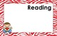 11x17 Zebra Daily Learning Targets Bulletin Board Set