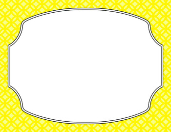 Blank Poster Templates (11x8.5) Essentials: Abstract Circles11x8.5