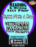 """SBAC Test Prep ~ 1 PDF Text, """"12,000 Miles a Day"""" About the Human Body"""