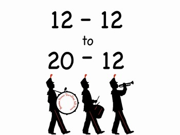 """12-12 to 20-12 mp4 Song Video from """"Subtraction Songs"""" Kathy Troxel"""