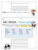 12 ABC Order Practice