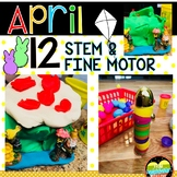 12 APRIL Spring STEM, EASY, SIMPLE, QUICK, FUN