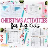 Christmas Activities for Big Kids