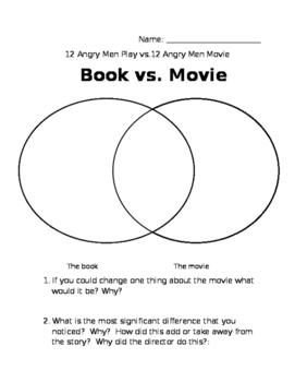 12 Angry Men Play versus Movie
