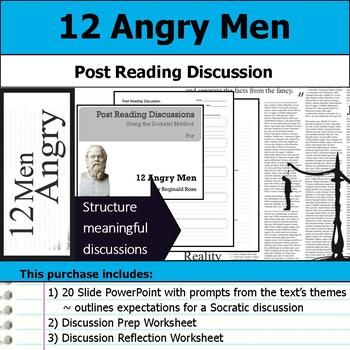 12 Angry Men - Socratic Method - Post Reading Discussions