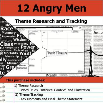 12 Angry Men - Theme Tracking Notes -  Etymology & Context Research