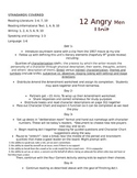 12 Angry Men Unit- Activities, Worksheets and Test Included