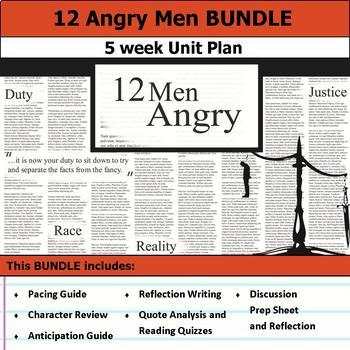 12 Angry Men Unit Bundle