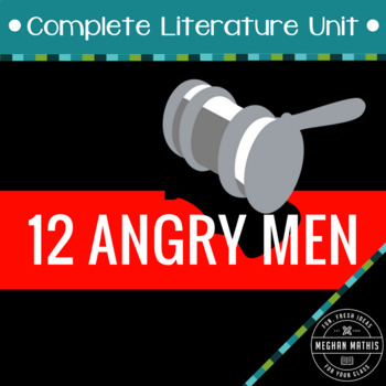 12 Angry Men - Complete Drama Unit Teaching Package