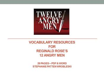 12 Angry Men Vocabulary