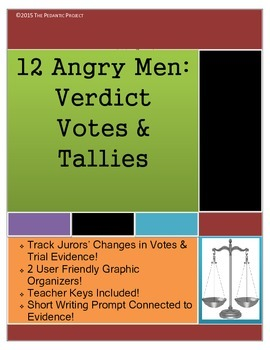 12 Angry Men Voting and Evidence Charts