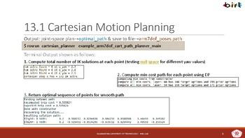 12. Arm Motion Planning