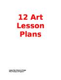 12 Art Lesson Plans!