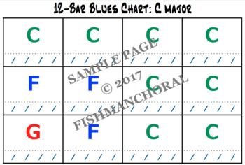 12-Bar Blues Charts