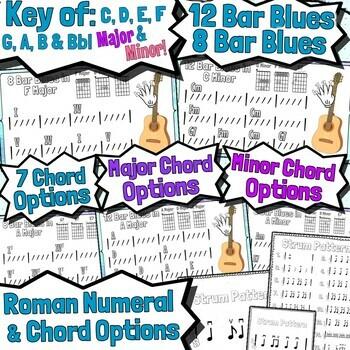 12 Bar Blues Guitar Lesson - The Key of C Major