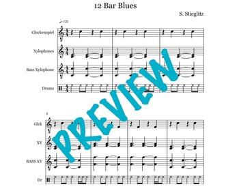 12 Bar Blues Orff Arrangement