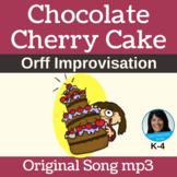 "12-Bar Blues/Orff Improv   ""Chocolate Cherry Cake"" by Lisa Gillam   Song mp3"