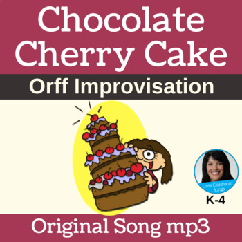 "12-Bar Blues/Orff Improv | ""Chocolate Cherry Cake"" by Lisa Gillam | Song mp3"