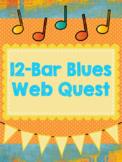 12-Bar Blues Web Quest, Intermediate, Music, Chords, with Rubrics