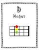 12 Beginner Ukulele Chord Posters- Low Color Version