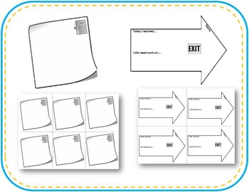 12 Blank Exit/Entrance Tickets