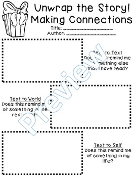 Christmas and Winter Themed Comprehension- Reading Responses, Book Reports
