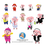 12 Career - Piglets for distance learning presentations an