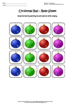 12 Christmas Beat Sheets