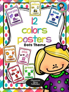 12 Colors Posters Dots theme