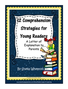 12 Comprehension Strategies for Young Readers-Letter of Ex
